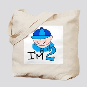 I'm 2 Boy Tote Bag