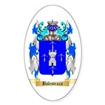 Balestrazzi Sticker (Oval 50 pk)