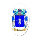 Balestra Oval Car Magnet