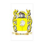 Balek Sticker (Rectangle 50 pk)