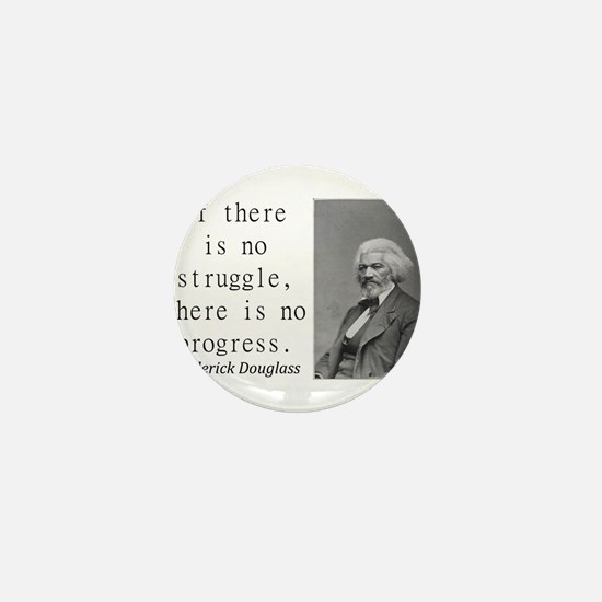 If There Is No Struggle Mini Button