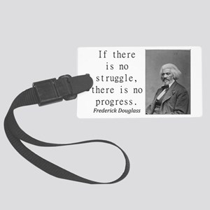 If There Is No Struggle Luggage Tag