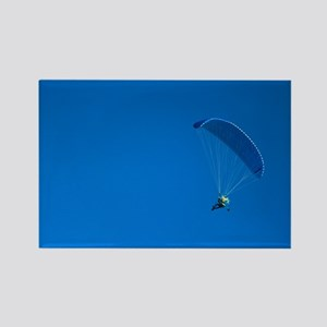 Powered paraglider - Rectangle Magnet (100 pk)
