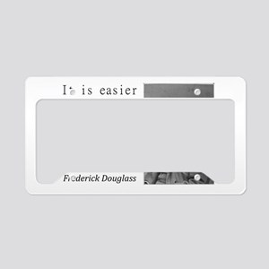It Is Easier To Build License Plate Holder