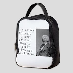 It Is Easier To Build Neoprene Lunch Bag