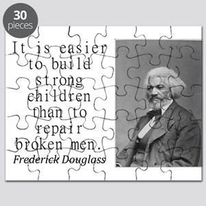 It Is Easier To Build Puzzle