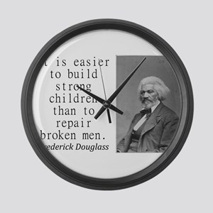 It Is Easier To Build Large Wall Clock