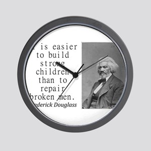 It Is Easier To Build Wall Clock