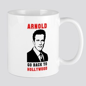 Arnold Go Back To Hollywood Mug