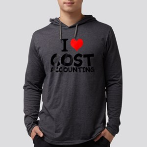 I Love Cost Accounting Mens Hooded Shirt