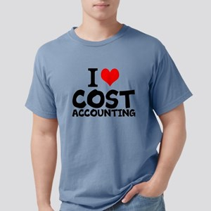 I Love Cost Accounting Mens Comfort Colors Shirt
