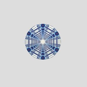 Graphene sheets, artwork - Mini Button