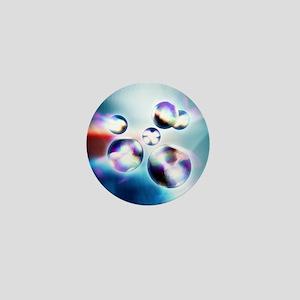 Quarks, 3D-computer artwork - Mini Button