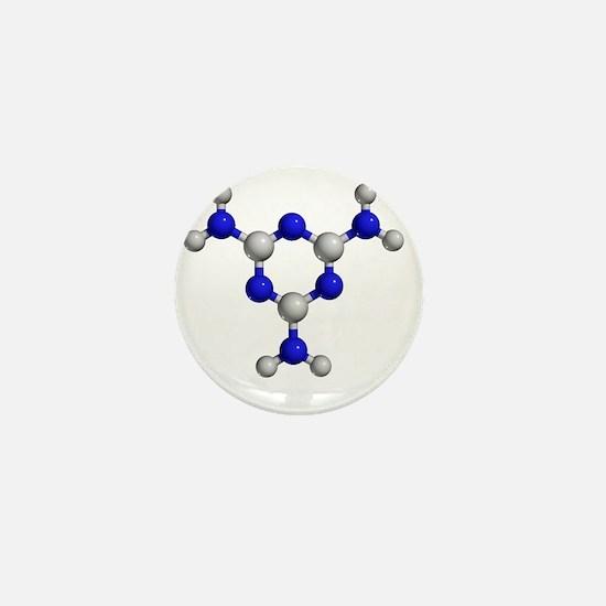 Melamine molecule - Mini Button