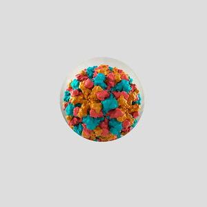 Norwalk virus, artwork - Mini Button