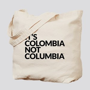 Colombia Not Columbia Tote Bag