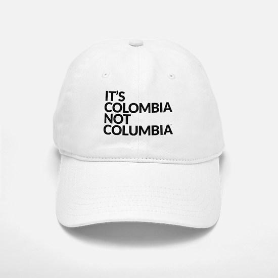 Colombia Not Columbia Baseball Baseball Baseball Cap