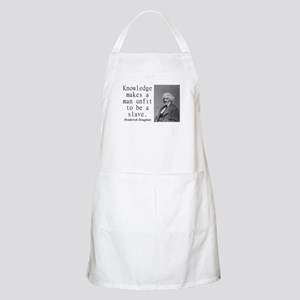 Knowledge Makes A Man Light Apron