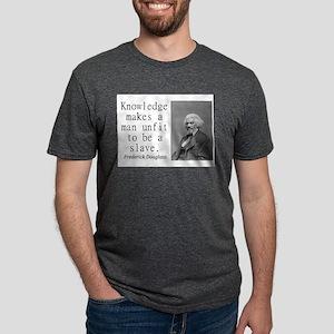 Knowledge Makes A Man Mens Tri-blend T-Shirt