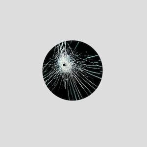 Broken glass - Mini Button