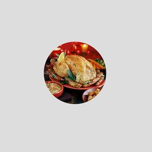 Christmas dinner - Mini Button
