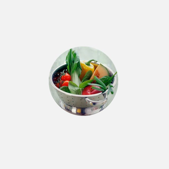 Fruit and vegetables - Mini Button