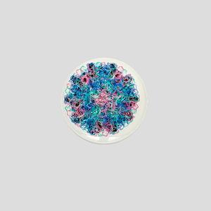 Norwalk virus particle - Mini Button