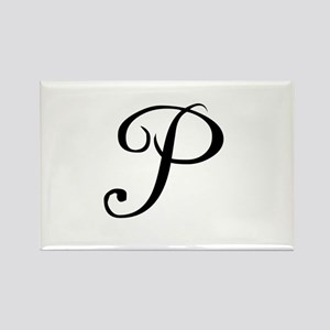 A Yummy Apology Monogram P Rectangle Magnet