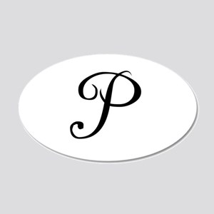A Yummy Apology Monogram P Wall Decal