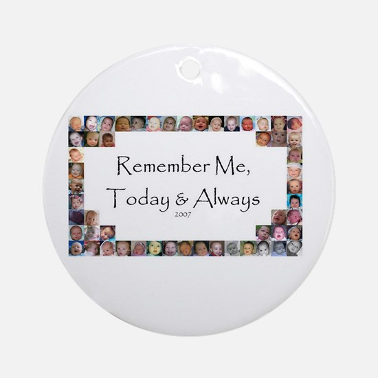 Remember Me Ornament (Round)