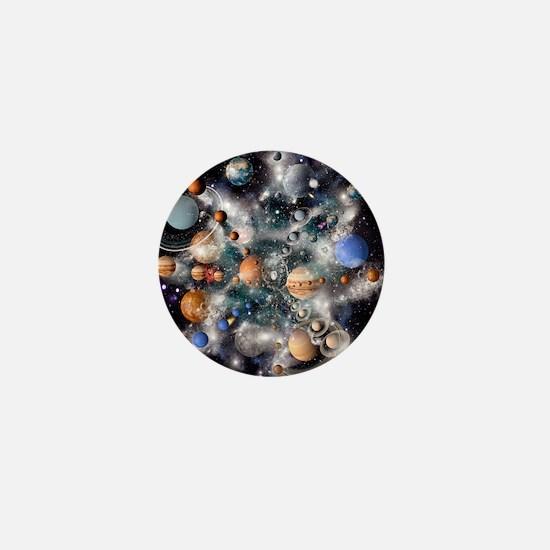 Solar system planets - Mini Button