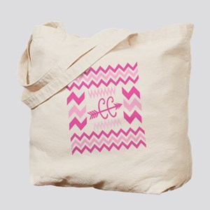 PINKs Cross Country ZigZags Tote Bag