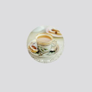 Tea and biscuits - Mini Button