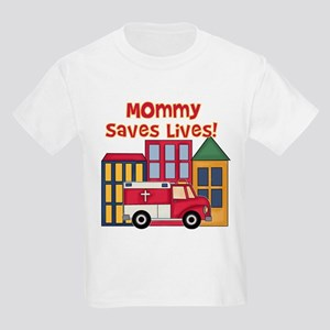 EMS Mommy Saves Lives Kids T-Shirt