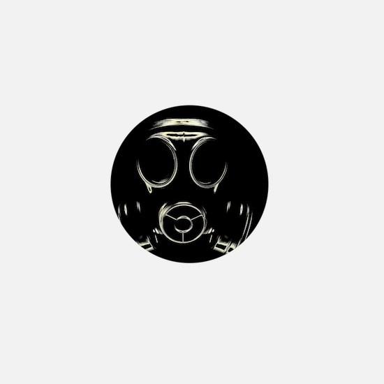Gas mask - Mini Button
