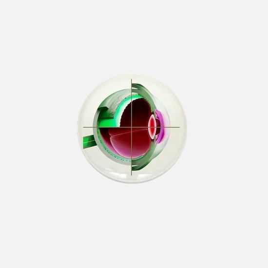 Human eye - Mini Button