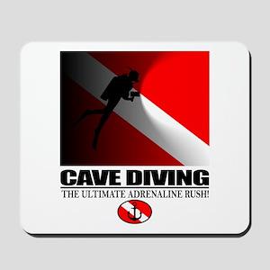 Cave Diving Mousepad