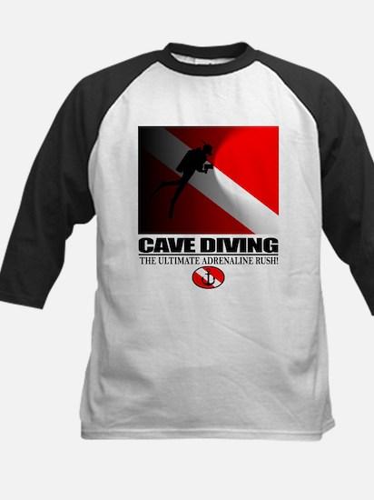 Cave Diving Baseball Jersey