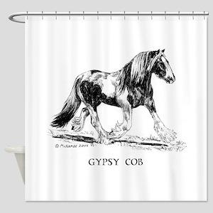 Gypsy Cob Shower Curtain