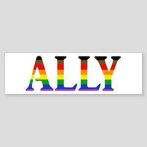 Ally Pride Bumper Sticker