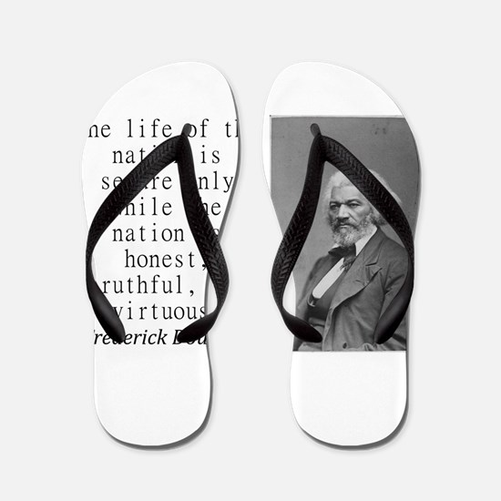 The Life Of The Nation Flip Flops
