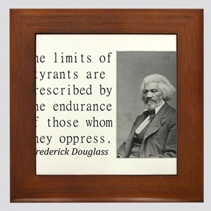 The Limits Of Tyrants Framed Tile