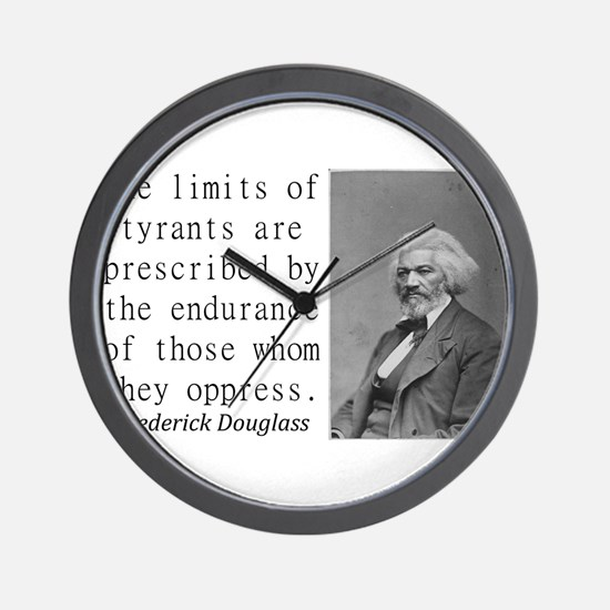 The Limits Of Tyrants Wall Clock