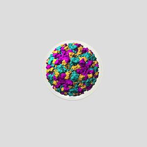 Norwalk virus particle - Mini Button (10 pk)