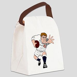 English Rugby Forward Canvas Lunch Bag