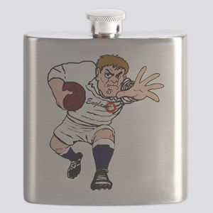 English Rugby Forward Flask