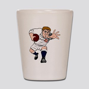 English Rugby Forward Shot Glass