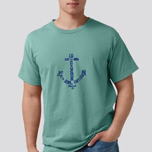 Anchor for the soul Mens Comfort Colors Shirt