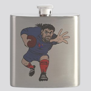 French Rugby Forward Flask