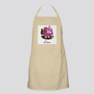 Lisa: Purple Flower BBQ Apron